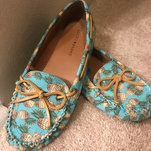 Pineapple Moccasins from Lucky Brand